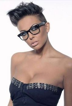 Black Women With Short Hair - http://decorition.com/black-women-with-short-hair/ - Black, Hair, Short, Women