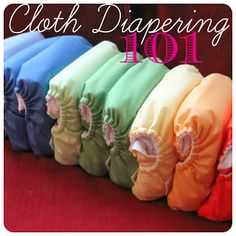 The Pearl and The Pilot: Cloth Diapering 101 Update