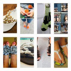 donneinpink: Sandali fai da te. Re-fashion selvaggio! Le idee p...