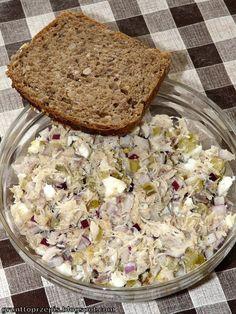 """GRUNT TO PRZEPIS!: Tradycyjna pasta z makreli w wersji """"odchudzonej"""""""