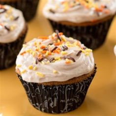 Halloween Gingerbread Cupcakes - Allrecipes.com