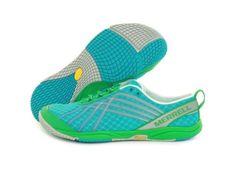 Merrell Womens Barefoot Trail Running shoes Glove Dash2 SIZE:6~8.5 #Merrell #Walking