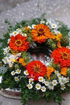 #flowerwreath #coronita #flori