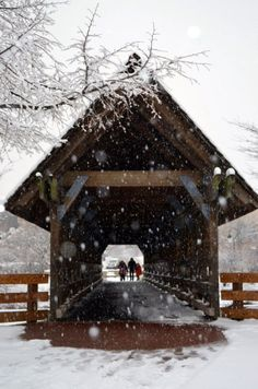 covered bridge in winter Winter Scenery, Winter Colors, Old Bridges, Winter Magic, Over The River, Country Scenes, Snow Scenes, Winter Pictures, Winter Beauty