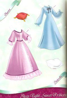 All Dressed Up: Disney Princess Paper Dolls, Part 2: Sleep Tight, Sweet Princess | Miss Missy Paper Dolls