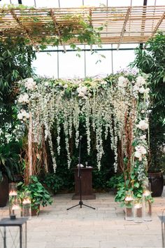 Lush florals create a romantic, beachy vibe at this wedding | Kelly Sweet Photography