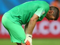 Frustrated Australian goalkeeper Mathew Ryan isn't pleased with his team's defeat to Chile.