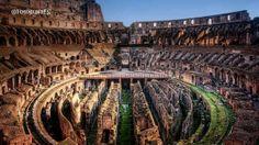 Coliseo Romano por dentro, Italia