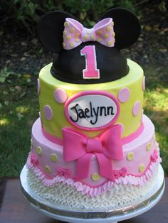 Minnie Mouse in Yellow and Pink