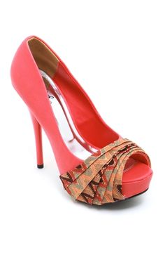 I could do this with other shoes and fabric..absolutely love this idea