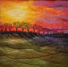 Homespun from Devon...Sue Lewis textile Artist....... Her works are awesome!!