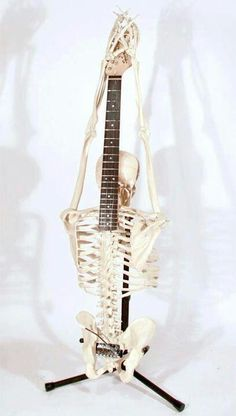 Rock N Roll to the bone... weird but cool