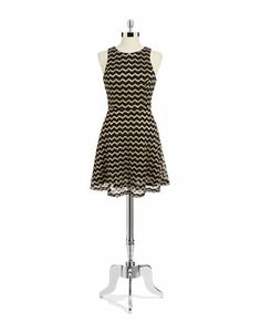 Women's Apparel | Boutiques | Chevron Striped Dress | Lord and Taylor
