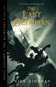 The Last Olympian cover - Rick Riordan
