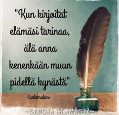 Helmiä elämäni ketjuun: Sanoja elämästä-facebook sivusto Carpe Diem Quotes, Finnish Words, Motivational Quotes, Inspirational Quotes, Smart Quotes, More Words, Live Life, Positive Vibes, Happy Life