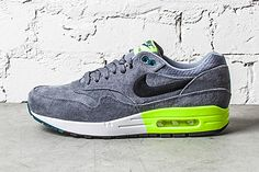 Nike Air Max 1 PRM Grey/Volt