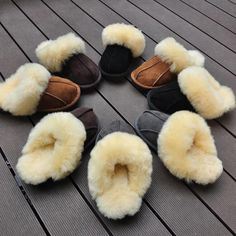 40415c272eb High Quality Winter Warm Home Slippers Fur one Couples Genuine Cow Leather  Leisure Lamb Wool Women