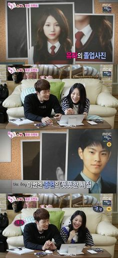 """Hong Jong Hyun and Girl's Day's Yura Show Off Their Graduation Photos on """"We Got Married"""""""