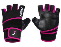 SEEU Womens Mens Weight Lifting Gloves with Wrist Support Breathable Gym Gloves Anti-slip for Workout Fitness Bodybuilding Crossfit Powerlifting Best Gloves, Gym Gloves, Workout Gloves, Workout Gear, Fun Workouts, Workout Fitness, Amazon Us, Thing 1, Best Gym