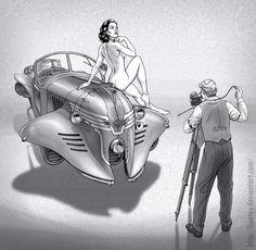 Diferencias sutiles entre el Dieselpunk y el Steampunk - Taringa!