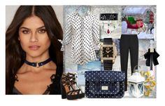 """""""winter bliss"""" by snowmoon ❤ liked on Polyvore featuring JAKIMAC, Aquazzura, Giorgio Armani, Yves Saint Laurent and Chopard"""