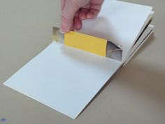 I love this. I never saw this type of binding before. Must try! - - - Making Handmade Books: Instructions: A Book Structure from Australia -- Flat-Style Australian Reverse Piano Hinge binding