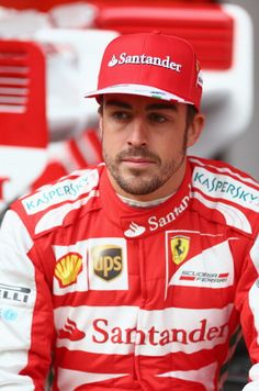 Second place for Ferrari driver Fernando Alonso of Spain @ the 2013 Belgium Formula One Grand Prix at the Spa-Francorchamps circuit, Belgium