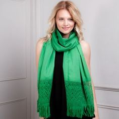 LISO. Forest Green Rebozo