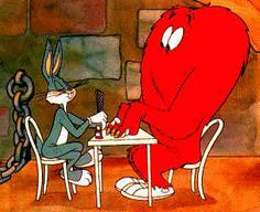 Bugs Bunny and The Heart Shaped Monster