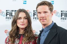 Benedict Cumberbatch and Keira Knightley 'The Imitation Game' film photocall, 57th BFI London Film Festival, London, Britain