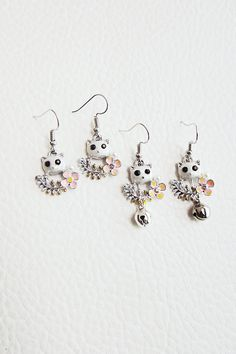 Generic cat_Ling_ flowers _of hair clip _S925_ silver earrings Earring eardrop earrings short _of clavicle_ chain necklace pendant _women -- For more information, visit image link. #hairhowto