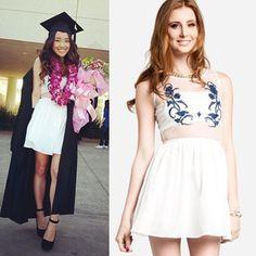 Image result for dresses for college graduation