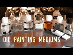 "How to use Mediums in Oil Painting and the ""Fat over lean"" Rule - YouTube"