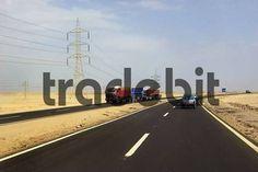 Egypt on the way Marsa Alam gtHurghada desert road
