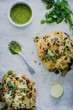 Whole Roasted Cauliflower - Winter in Paris - Kitchen Table Food