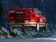Peugeot 307 WRC rally car