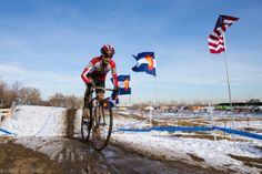 Maureen Bruno-Roy rides to the victory in the women's singlespeed race