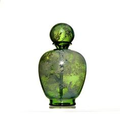 Kiva Ford, Hand blown glass perfume bottle.