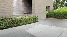 Has a great chance to be implemented as terrace in our garden by xtirio Garden Tiles, Garden Architecture, Back Gardens, Foyer, Terrace, Porch, Garage Doors, Sidewalk, Backyard