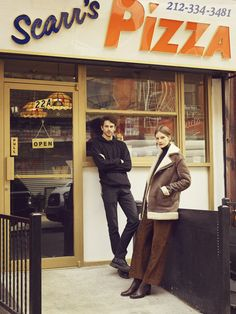 Scarr's Pizza | 1970s style pizza joint, all natural ingredients, on Orchard Street by Fung Tu