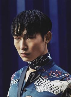 Sang Woo Kim by Nil Hoppenot for Men's Folio Magazine
