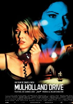 Mulholland Drive (2001)  After a car wreck on the winding Mulholland Drive renders a woman amnesiac, she and a perky Hollywood-hopeful search for clues and answers across Los Angeles in a twisting venture beyond dreams and reality.  Release Date: October 26, 2001 Genre: Crime, Drama, Mystery, Thriller Run Time: 2 h 27 min Rated: R Cast: Naomi Watts, Laura Harring, & Justin Theroux