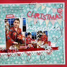 Layout: Christmas Happies