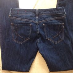 It Jeans The Hottie Great condition. They are not at all faded, just the lighting. Size 27 Short. Dark blue wash It Jeans Jeans