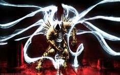 And The Heavens Shall Tremble 23 Awesome Works Of Diablo 3 Fanart You Need To See Diablo Game, Diablo Ii, Wallpaper Pictures, Wallpaper Backgrounds, Wallpapers, Angel Warrior, Heroes Of The Storm, Angels And Demons, Starcraft