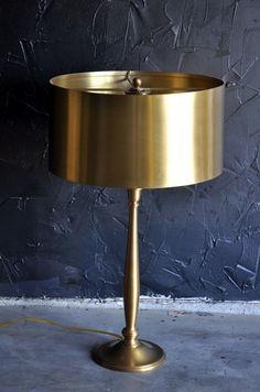 brass lamp love.