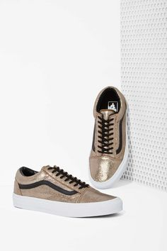 058cc69ca1 Old Skool Sneaker by  vans Metallic Vans