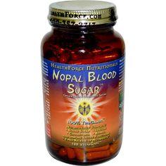 HealthForce Nutritionals, Nopal Blood Sugar, 180 VeganCaps