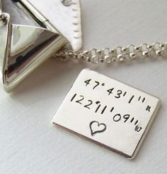 Personalized Love Letter Locket Charm    hint hint*