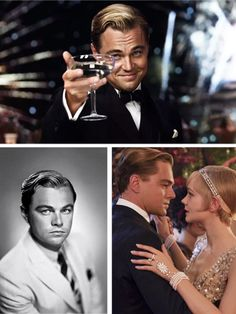 The Great Gatsby Leonardo DiCaprio Cropped Peak Hairstyle Tutorial